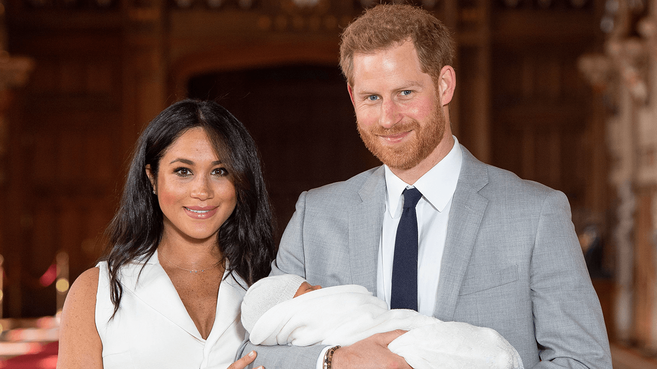 Royal Family Officially Welcomes Archie Harrison
